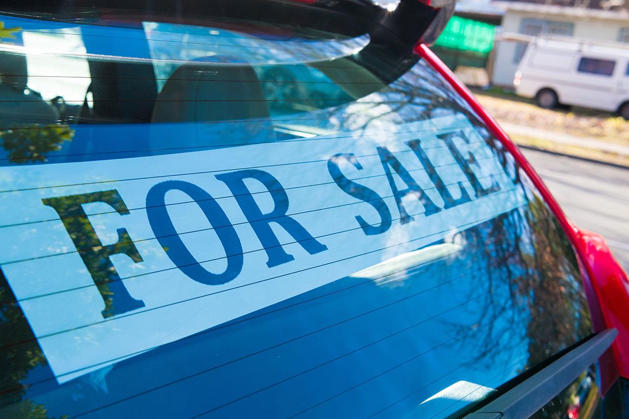veicolo in vendita
